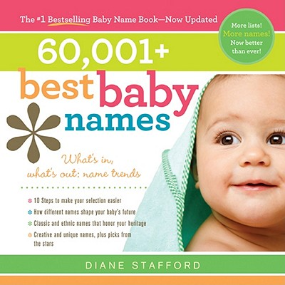60,001 Best Baby Names By Stafford, Diane